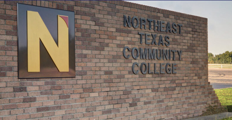 Sign for Northeast Texas Community College
