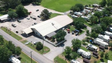 Aerial view of Escapees CARE facility