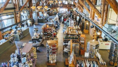 Image of one of 12 Yellowstone General Stores.